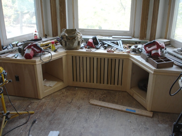 custom wood radiator covers